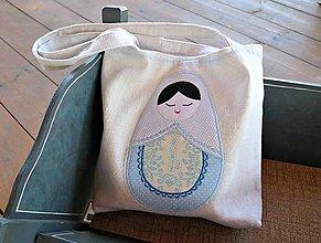 Veľké tašky - Spiaca bábika - 5663695_