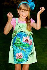 Šaty - Detská maľba na šaty... - 5663526_