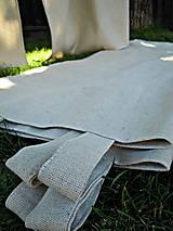 Úžitkový textil - Závesy režné - 5664778_