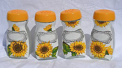 Nádoby - Sunflower RETRO Boxes - 5667061_