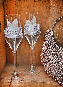 Nádoby - Svadobné poháre Great Gatsby I - 5667687_