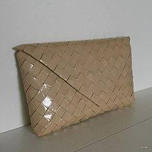 Kabelky - listovka béžová - 5666384_