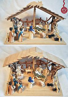 Dekorácie - Betlehem (Betlehem zo šúpolia) - 5670072_