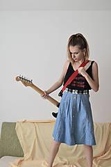 Sukne - Denim grunge z deväťdesiatych - zľava  - 5670163_