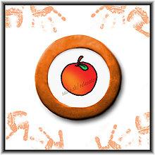 Magnetky - Magnetka Detské mini (jabĺčko) - 5669182_