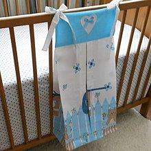 Detské doplnky - Zásobník na plienky Za modrým plotom - 5673049_