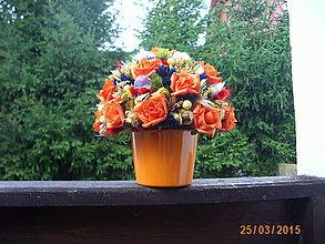 Dekorácie - Oranžová variácia - 5672822_