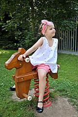 Detské oblečenie - Top LENA bodkový - 5670956_
