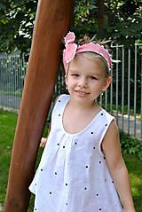 Detské oblečenie - Top LENA bodkový - 5670957_