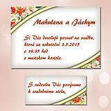 Papiernictvo - Svadobné oznámenia Dotyk nehy 1 - 5671963_