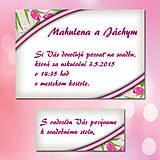 Papiernictvo - Svadobné oznámenia Dotyk nehy 2 - 5671998_