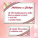 Papiernictvo - Svadobné oznámenia Dotyk nehy 4 - 5672004_