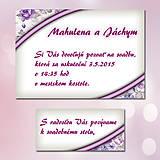 Papiernictvo - Svadobné oznámenia Dotyk nehy 3 - 5672011_