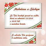 Papiernictvo - Svadobné oznámenia Dotyk nehy 6 - 5672028_