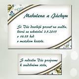 Papiernictvo - Svadobné oznámenia Dotyk nehy 9 - 5672042_