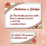 Papiernictvo - Svadobné oznámenia Dotyk nehy 11 - 5672047_