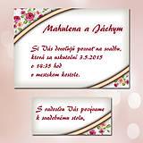 Papiernictvo - Svadobné oznámenia Dotyk nehy 15 - 5672057_