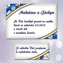 Papiernictvo - Svadobné oznámenia Dotyk nehy 5 - 5672018_
