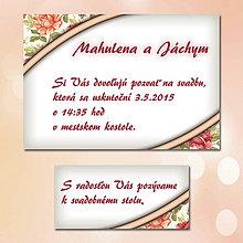 Papiernictvo - Svadobné oznámenia Dotyk nehy - 5672032_