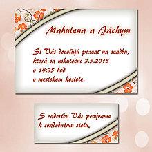Papiernictvo - Svadobné oznámenia Dotyk nehy 8 - 5672041_