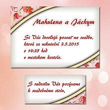 Papiernictvo - Svadobné oznámenia Dotyk nehy 10 - 5672043_