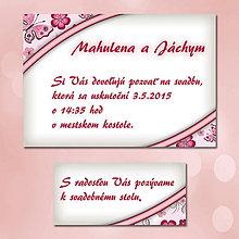 Papiernictvo - Svadobné oznámenia Dotyk nehy 13 - 5672049_