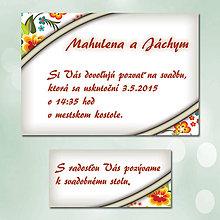 Papiernictvo - Svadobné oznámenia Dotyk nehy 14 - 5672054_