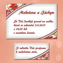 Papiernictvo - Svadobné oznámenia Dotyk nehy 16 - 5672121_