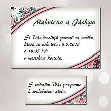 Papiernictvo - Svadobné oznámenia Dotyk nehy 17 - 5672123_