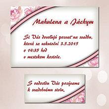 Papiernictvo - Svadobné oznámenia Dotyk nehy 18 - 5672125_