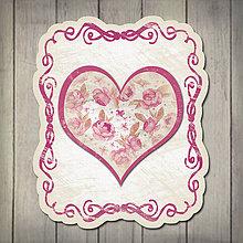 Papiernictvo - Kvety v srdci - pohľadnica 9 - 5672202_