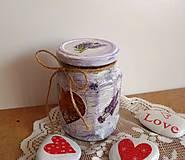 - Levanduľový pohár na bylinky - 5675747_