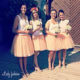 Sukne - sukničky pre družičky - 5674526_