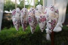Dekorácie - srdiečka  romantické  - 5675979_