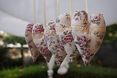 Dekorácie - srdiečka  romantické  - 5675984_