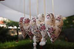 Dekorácie - srdiečka  romantické  - 5675987_