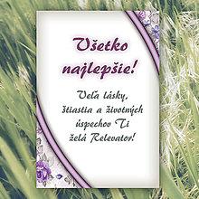 Papiernictvo - Pohľadnice Dotyk nehy - 5674779_