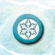 Magnetky - Magnetka snehová vločka (8) - 5674871_