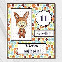 Papiernictvo - Pohľadnice k narodeninám pre deti - 5675768_