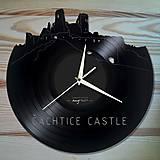 ČACHTICKÝ HRAD - vinylové hodiny na LP