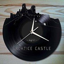 Hodiny - ČACHTICKÝ HRAD - vinylové hodiny na LP - 5677847_