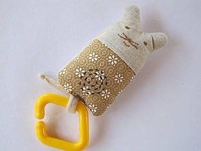 Hračky - Myška - hryzadlo - 5679608_