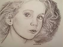 Kresby - kráska :-) ,portrét A4 - 5680452_