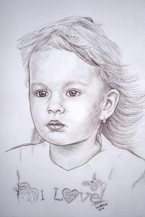 Kresby - Heidi - A3 kresba na akvarelový papier - 5680407_