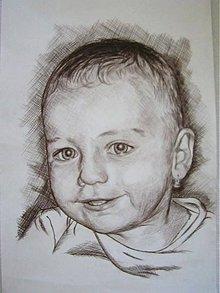 Kresby - Malá princezna -  portrét A4 - 5680884_