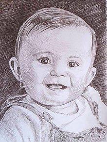 Kresby - bábika :-) - portrét A3 - 5680934_