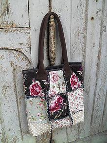 Veľké tašky - Taška na leto v romantickom prevedení - 5681594_
