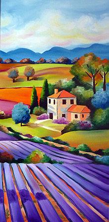 Obrazy - Lavender Field II. - 5681739_