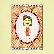Papiernictvo - Detská pohľadnica - číňanka - 5680495_