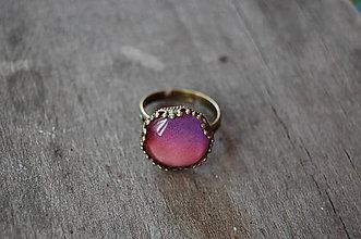 Prstene - Purpurový západ slnka - 5683134_